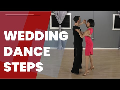 How to dance at a wedding for couples with Ballroom dance ba