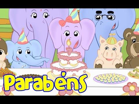 Parabéns pra você - Elefantinho Bonitinho - Música para crianças