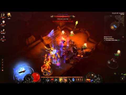Diablo 3 III Act 2 2/4 - Boss Fight Zoltun Kulle and Belial Midnight Release Gameplay Let's Play