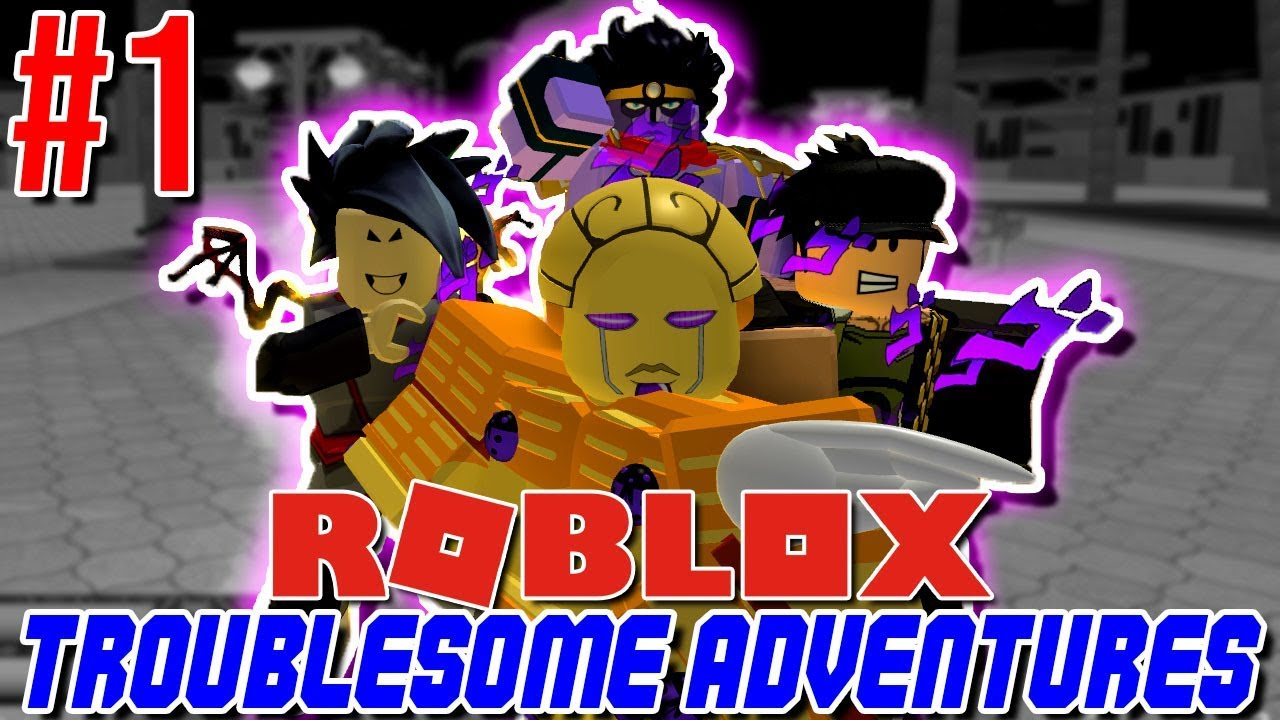 Best Jojo Game On Roblox The Start Of Something Great Roblox Troublesome Adventures 1 - roblox image ids jojo