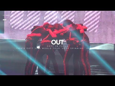 190616 GOT7 2019 WORLD TOUR 'KEEP SPINNING' IN SEOUL - OUT GOT7 JB 재범