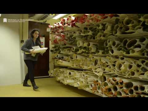 Parliamentary Archives: The Digitisation Process
