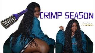 ♡ 30 Inch #Crimps ! | Quick Weave & Closure