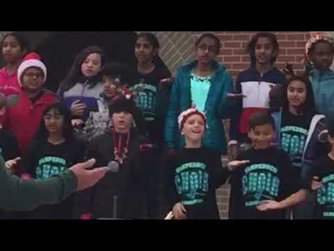 Boogie Woogie Reindeer McSpedden Elementary School