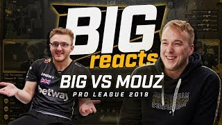 "BIG REACTS #1: BIG vs. mousesports ""My mum could probably kill these two guys from heaven!"""