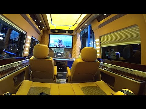 Motorhome Based On The Mercedes Sprinter 2016 2017 Interior Exterior Video House Truck