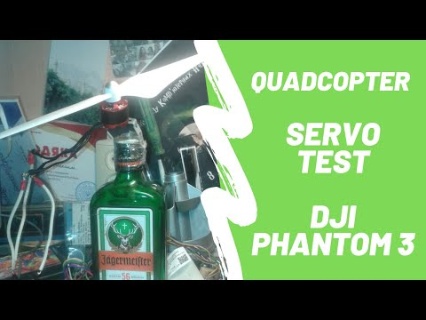 Фото DJI Phantom 3. Quadcopter Servo Test
