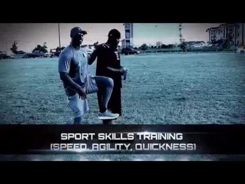 indoor training on a pro style turf