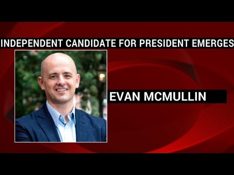 Anti-Trump Republican Evan McMullin to run for president