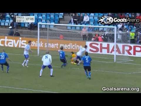 Faroe Islands 2-0 Estonia (Group C Qual.)