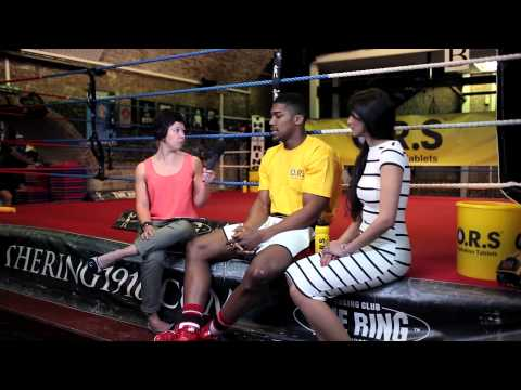 Interview with Anthony Joshua - Round 2