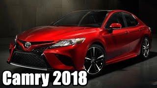 Обзор новой Toyota Camry 2018 (презентация 2017)(, 2017-01-10T13:25:45.000Z)
