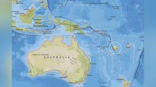 '불의 고리'에서 또…남태평양 바누아투 섬에서 규모 6.4 지진 / 연합뉴스TV (YonhapnewsTV)