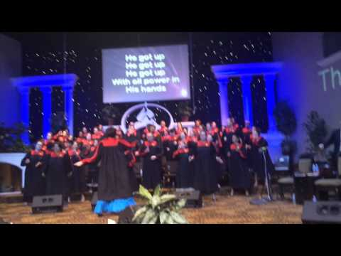"Shara McKee & The POK Choir sing ""He Got Up"" – Easter 2014"