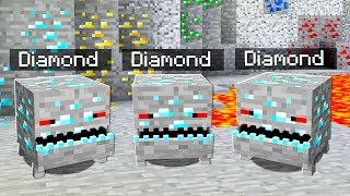 WHAT IF DIAMONDS CAME ALIVE IN MINECRAFT?