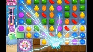 Candy Crush Saga Level 924 NO BOOSTER [ 8 moves done ]