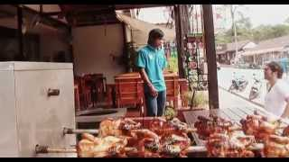 ТАЙЛАНД: Поход за курицей гриль на острове Чанг в Тайланде Thailand