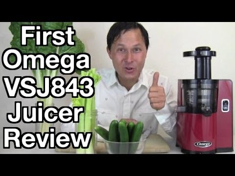 NEW Omega VSJ843 Vertical Cold Press Juicer with Auto Cleani