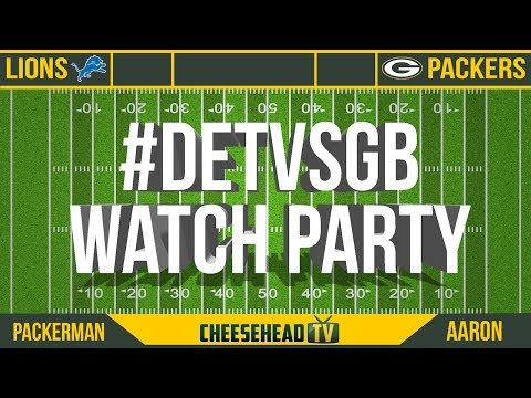 CHTV Packers Watch Party: Detroit Lions vs Green Bay Packers