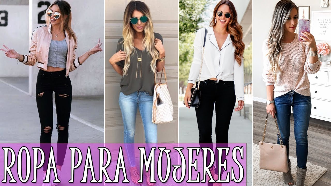 Ropa casual mujer