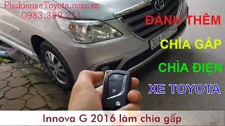 Sửa khóa Toyota, làm thêm chìa khóa Toyota, đánh chìa khóa zin cho xe Toyota. LH 0983.389.211