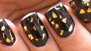 Glitter Flakes: Use Glitter Nail Art Decorations!