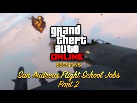 GTA Online Sessions: Flight School Jobs Part 2
