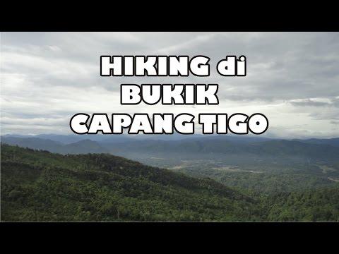 Hiking ke Bukik Capang Tigo, Kandang Baru, Sijunjung.