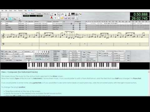beverly hills cop theme in midi