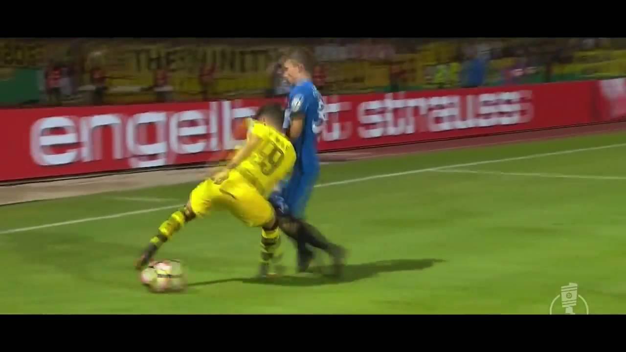Emre Mor vs  Eintracht Trier Away ¦ 22 08 2016 ¦ᴴᴰ