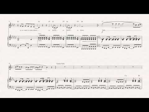 Trumpet  - Welcome to the Jungle - Guns N' Roses -  Sheet Music, Chords, & Vocals