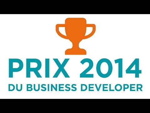 Remise du Prix du Business Developer 2014 (partie 4)