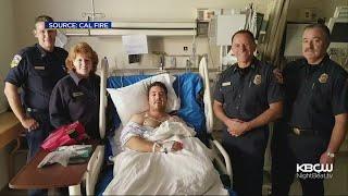 7 Firefighters Injured Battling Bear Fire In Santa Cruz Mountains