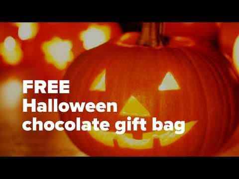 Avalon New York Dessert Shop Free Halloween Gift Bag October 31st