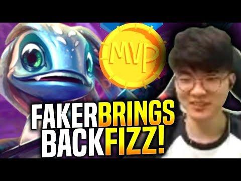 Faker Brings Back His Fizz! - When Faker Picks Fizz Mid! | SKT T1 Replays