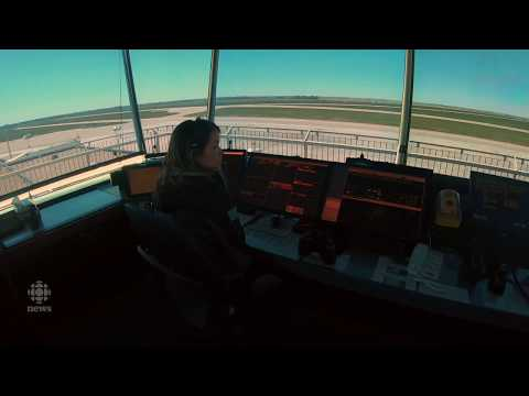 Behind The Scenes In The NAV CANADA Control Tower At Regina International Airport