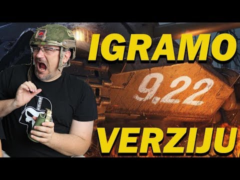 Igramo Test Server verzija 9.22 - Kojot igra World of Tanks powered by Telenor.rs