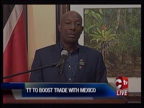 Trade Boost Between T&T And Mexico