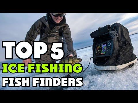 Best Ice Fishing Fish Finders Of 2019 | Ice Fishing Fish Finders Buying Guide