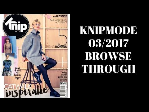 KnipMode 03/2017 Dutch Sewing Magazine Browse Through