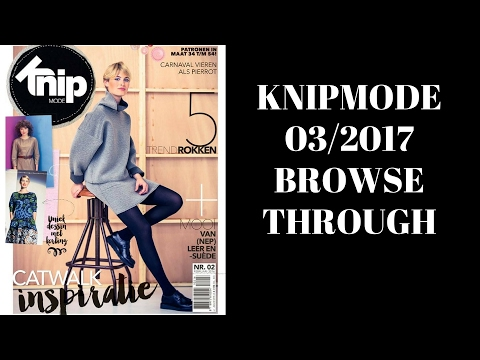 KnipMode 03/2017 Dutch Sewing Magazine Browse Through