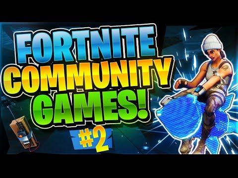 BEING AN ASSET TO THE TEAM? Community Games #2 (Fortnite Bat