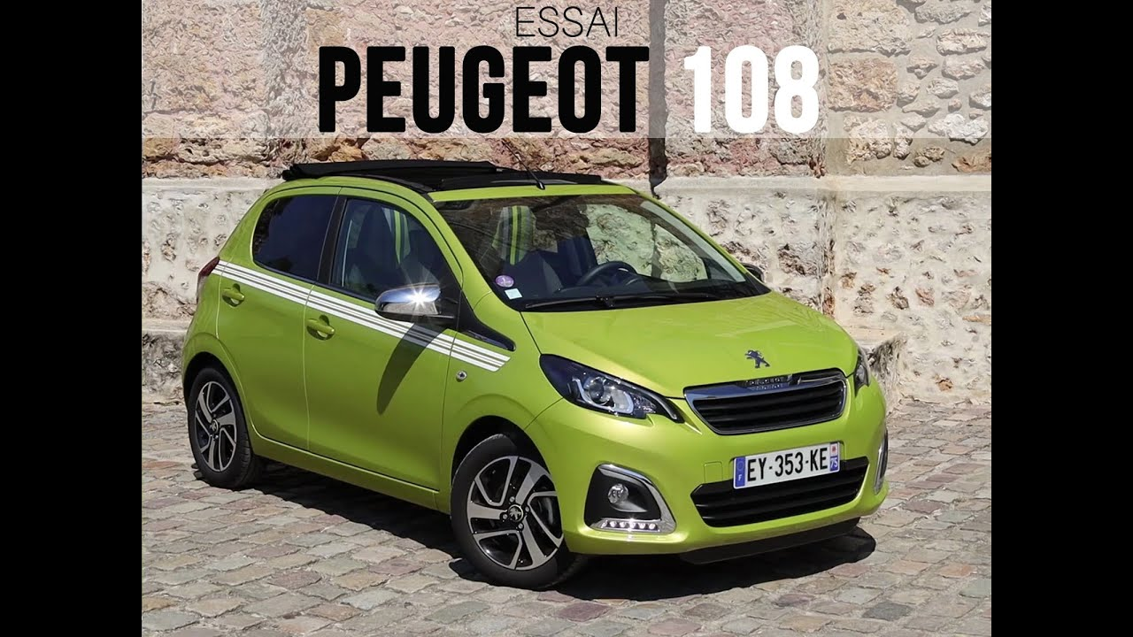 Essai Peugeot 108 1 0 Vti 72 Top Collection 2019 Youtube