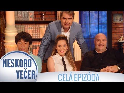 Michal David, Andrea Gabrišová a Takuya Haneda v Neskoro Večer - CELÁ EPIZÓDA