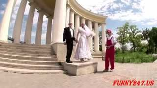 Свадебные приколы видео 2015  - Funny Wedding 2015 #67