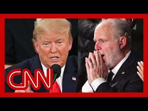 Trump surprises Rush Limbaugh at State of the Union
