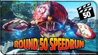 ROUND 50 SPEED RUN! Call Of Duty Zombies - Infinite Warfare Zombies! ATTACK OF THE RADIOACTIVE THING