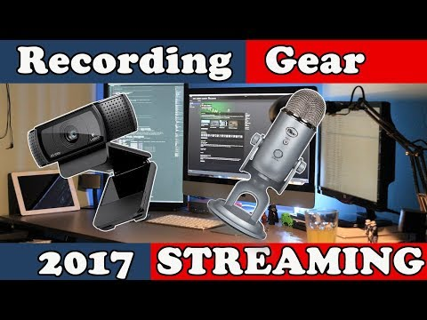Beginner Video recording and Streaming Set up Guide 2017