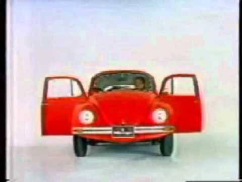 classic 8 cylinder vw beetle commercial