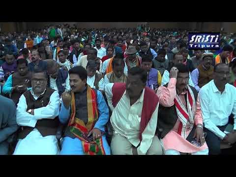 SRISTI TRIPURA LIVE NEWS 25 01 2018 HD VIDEO